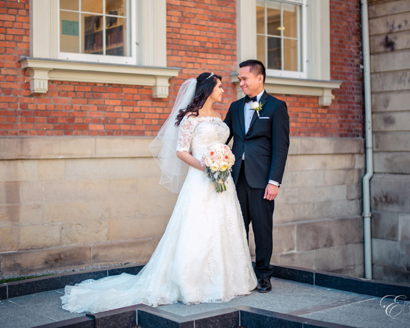 osgoode hall wedding photo