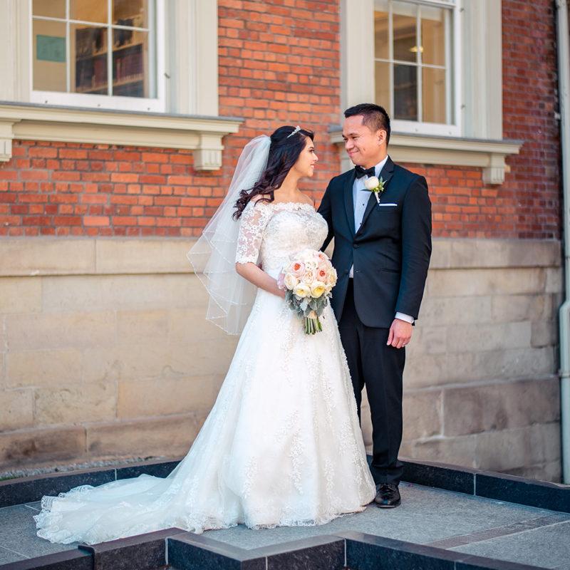 osgoode hall wedding photo