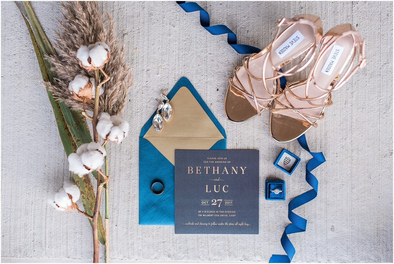 0009 Bethany and Luc - Fall Backyard Ottawa Wedding - Copper and Navy - PhotosbyEmmaH.jpg