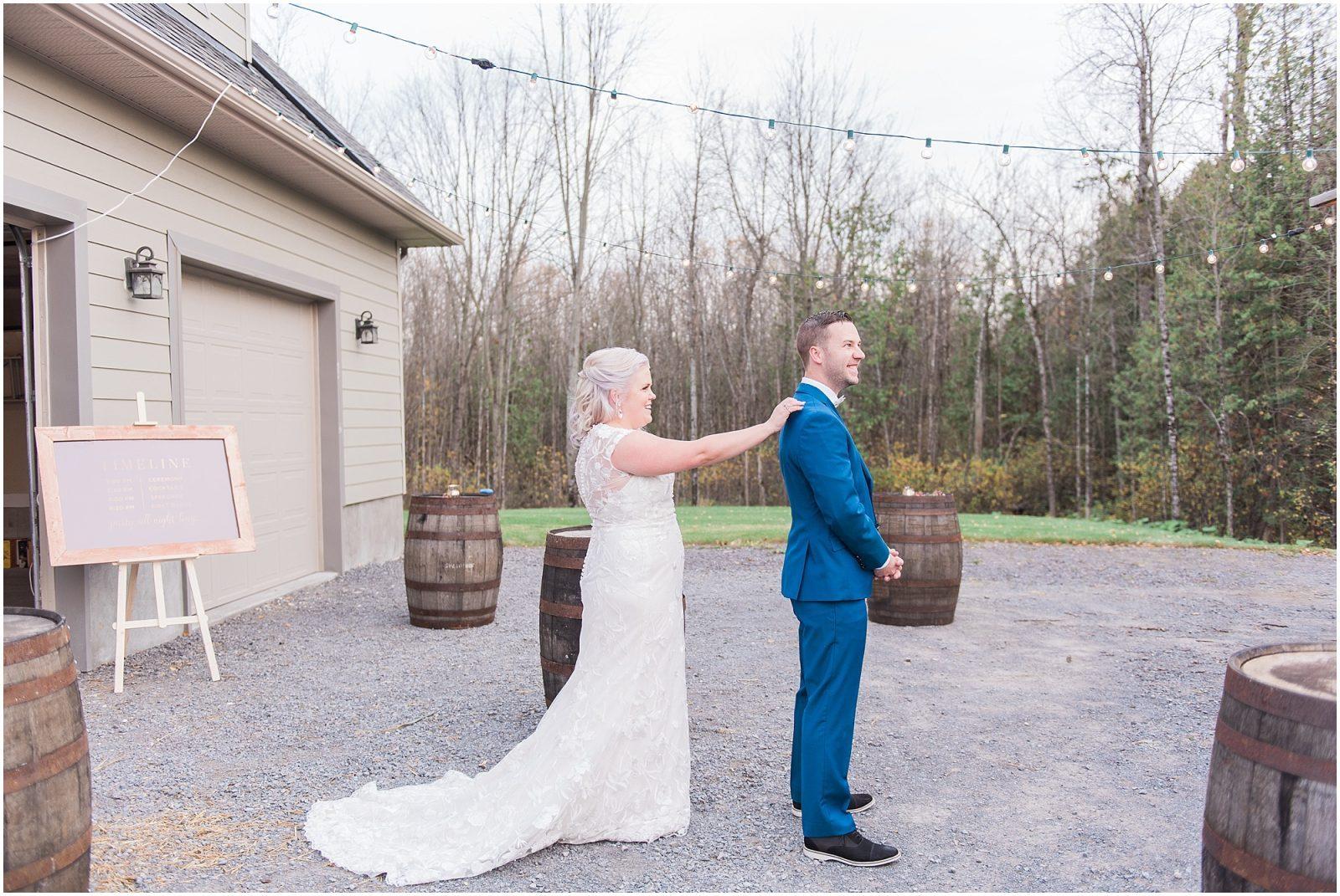 0036 Bethany and Luc - Fall Backyard Ottawa Wedding - Copper and Navy - PhotosbyEmmaH.jpg