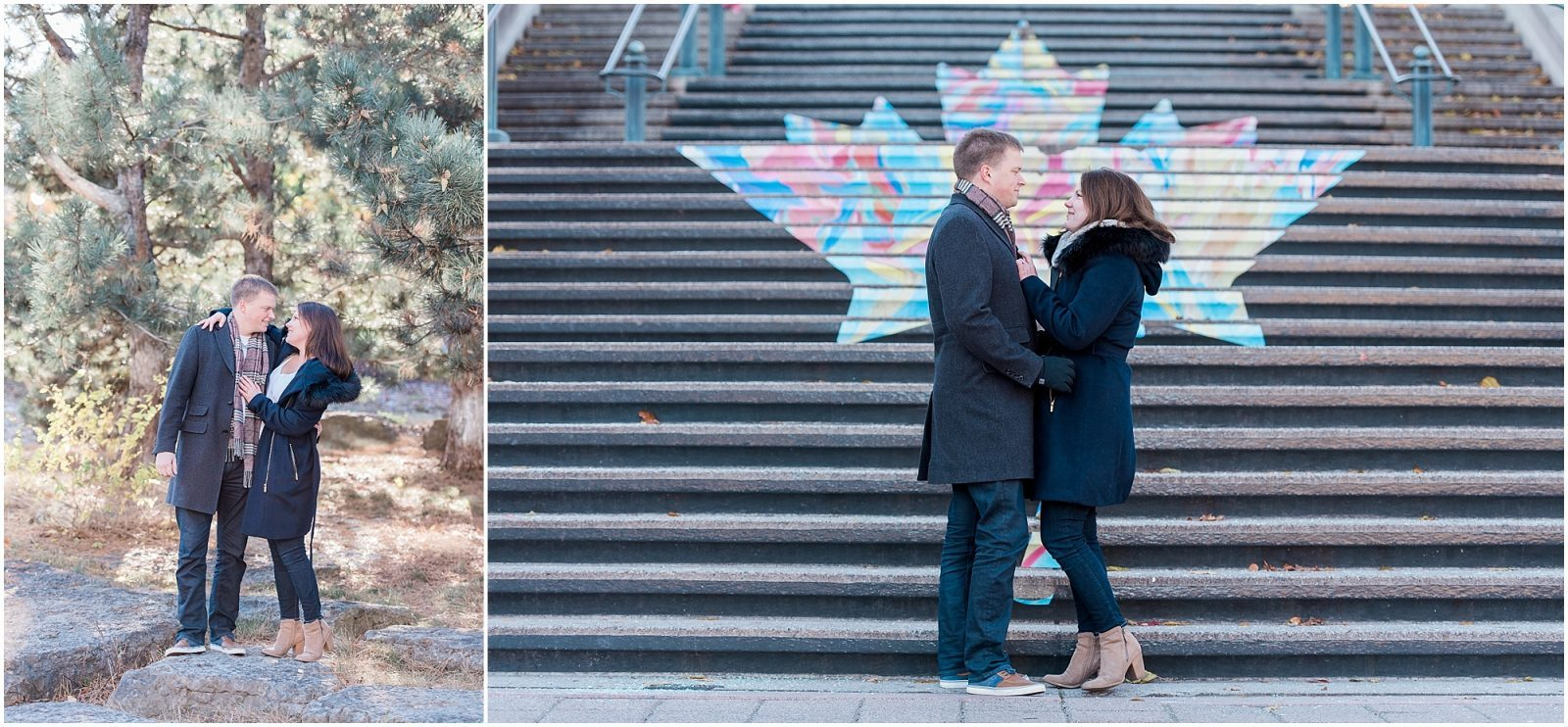 engagement at Major's Hill Park in Ottawa - engagement photography Ottawa