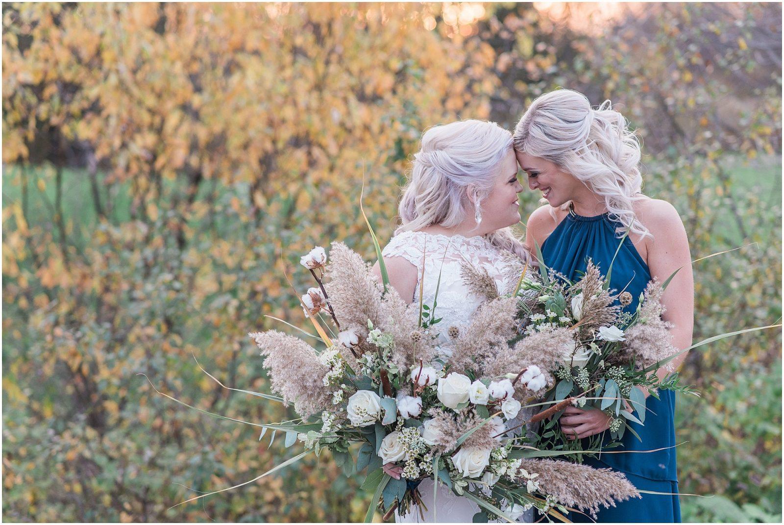 0061 Bethany and Luc - Fall Backyard Ottawa Wedding - Copper and Navy - PhotosbyEmmaH.jpg