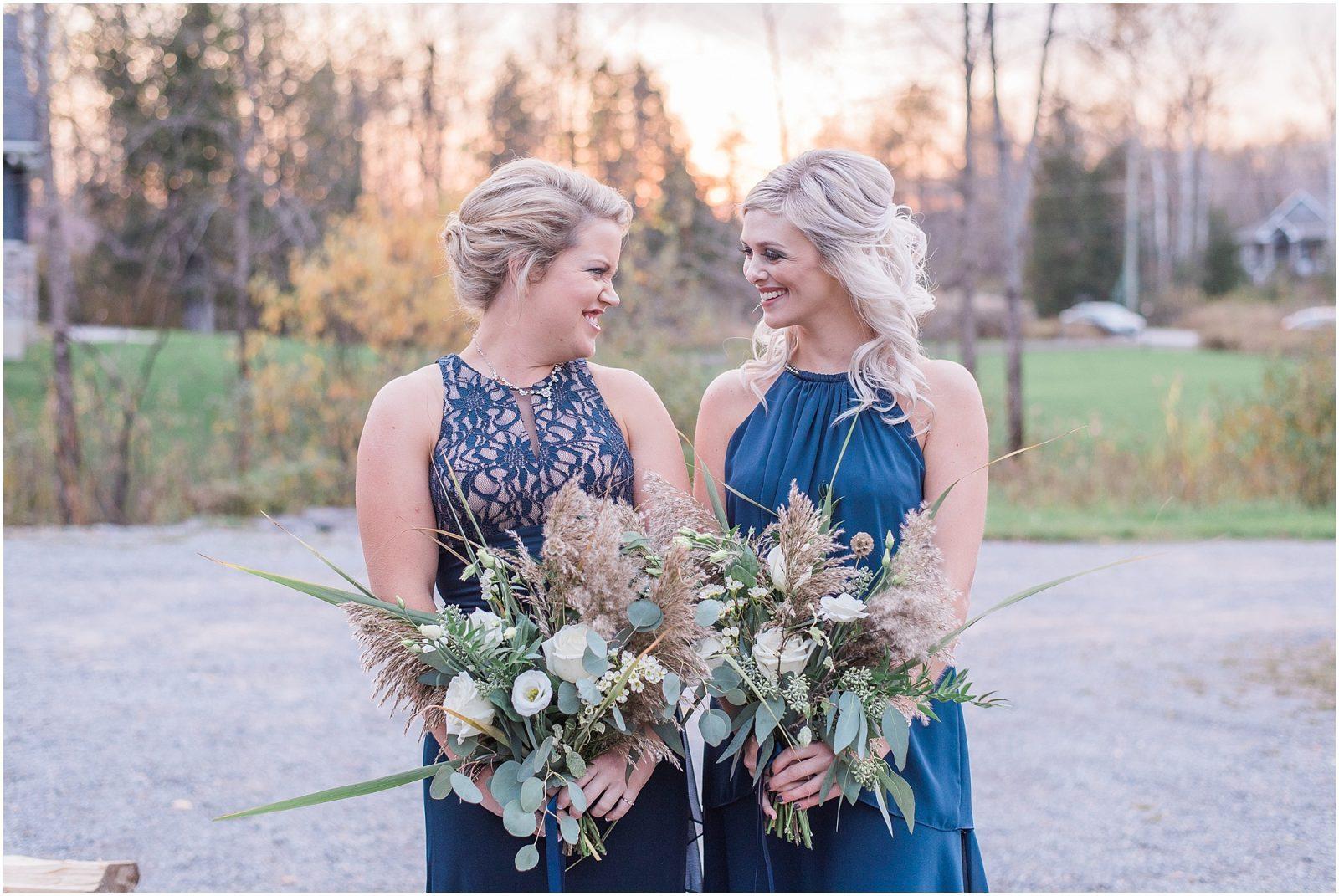 0073 Bethany and Luc - Fall Backyard Ottawa Wedding - Copper and Navy - PhotosbyEmmaH.jpg