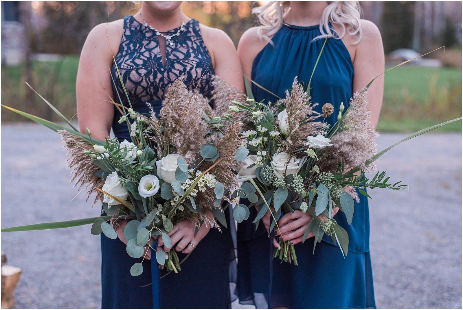 0074 Bethany and Luc - Fall Backyard Ottawa Wedding - Copper and Navy - PhotosbyEmmaH.jpg