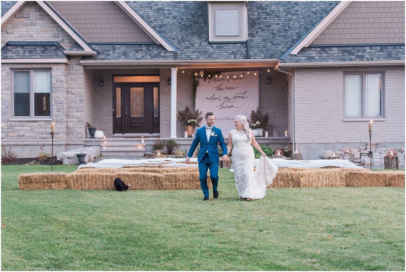 0079 Bethany and Luc - Fall Backyard Ottawa Wedding - Copper and Navy - PhotosbyEmmaH.jpg