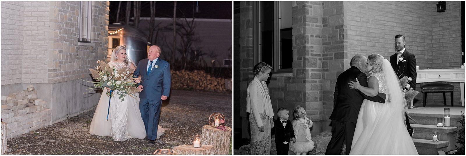 0092 Bethany and Luc - Fall Backyard Ottawa Wedding - Copper and Navy - PhotosbyEmmaH.jpg