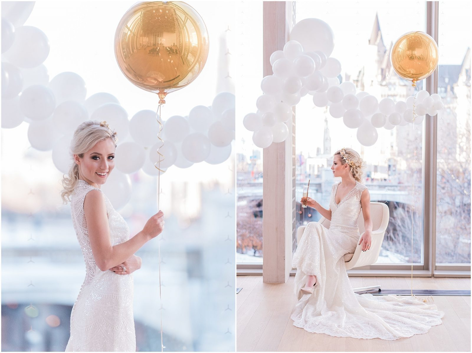 Wedding O'Born Room NAC Ottawa - New Years Glam Wedding Inspiration - bright and airy ottawa wedding photographer - elegant bride