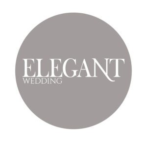 as seen on elegant wedding magazine badge