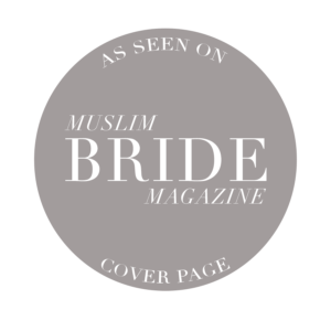 as seen on muslim bride magazine