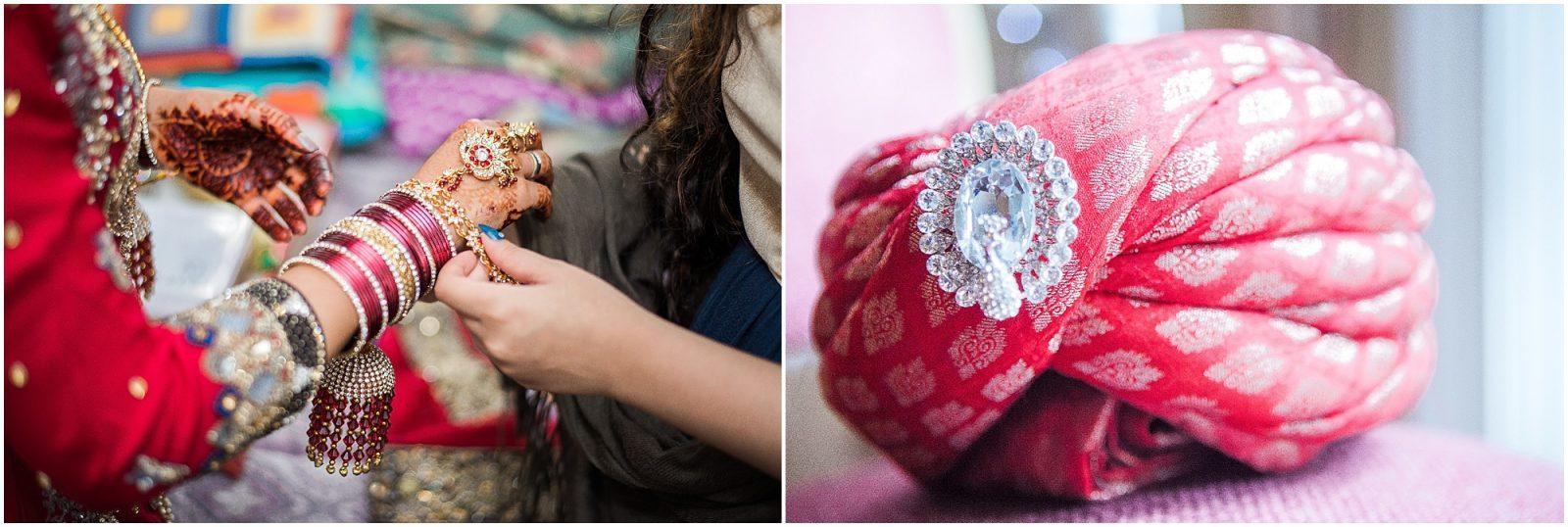 South Asian Wedding Toronto - Mehndi - Nikah, walima, indian wedding, pakistani wedding. Sarah & Sajid - bridal details, bride getting ready