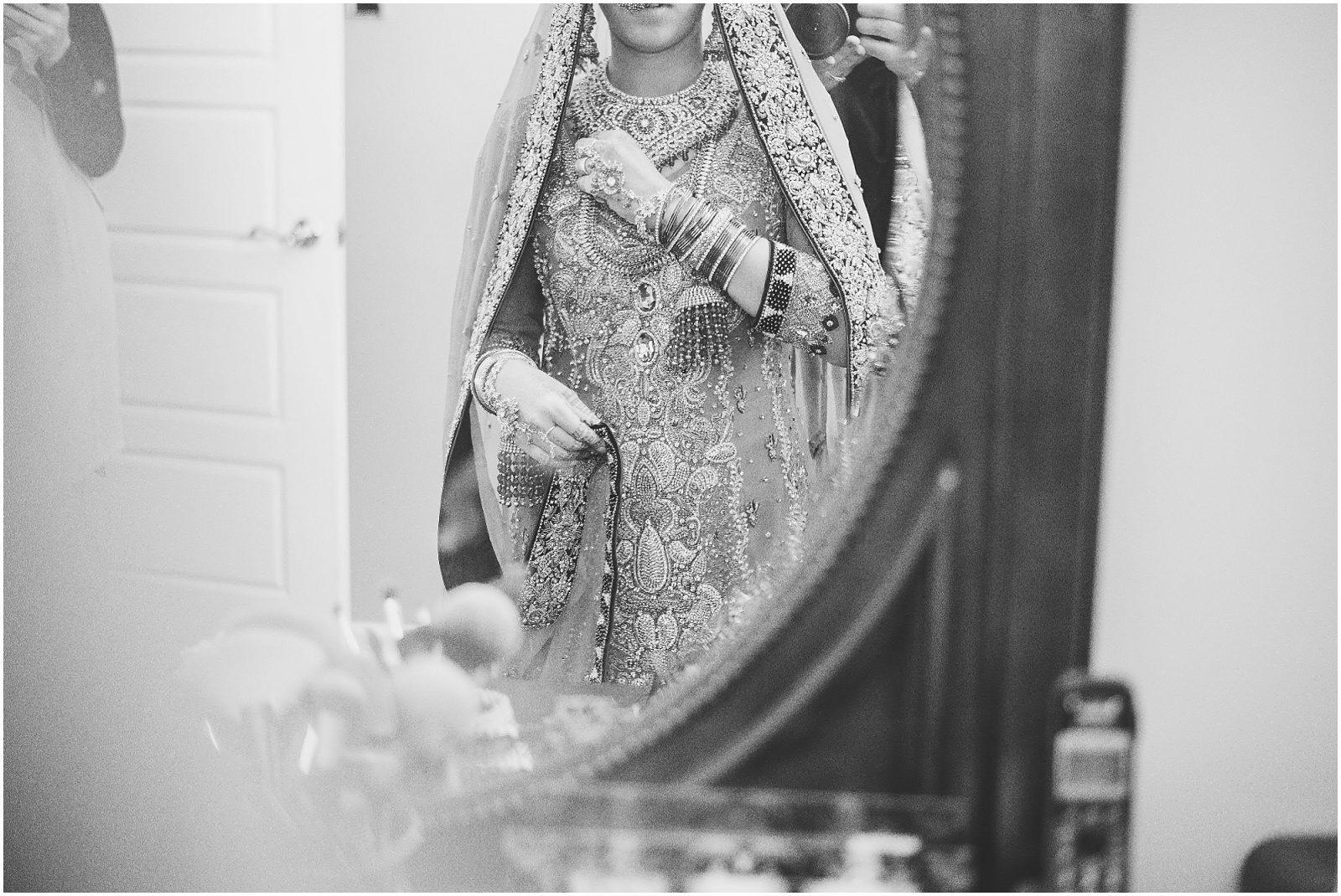 South Asian Wedding Toronto - Mehndi - Nikah, walima, indian wedding, pakistani wedding. Sarah & Sajid - bridal details, bride getting ready , black and white