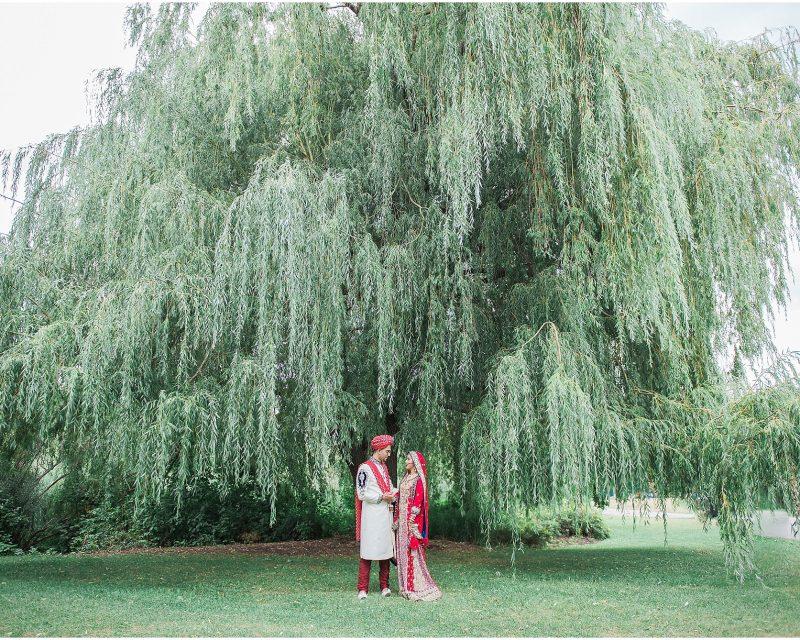 South Asian Wedding Toronto - Mehndi - Nikah, walima, indian wedding, pakistani wedding. Sarah & Sajid - first look - willow tree