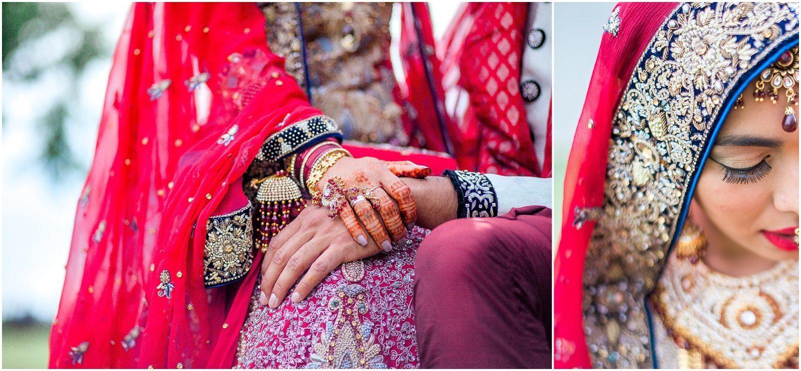 South Asian Wedding Toronto Photography - Mehndi, Nikah, walima, indian wedding, pakistani wedding. Sarah & Sajid - holding hands