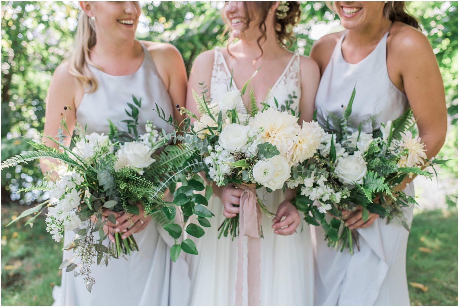 Lush green and white bouquet - ottawa - lush wedding