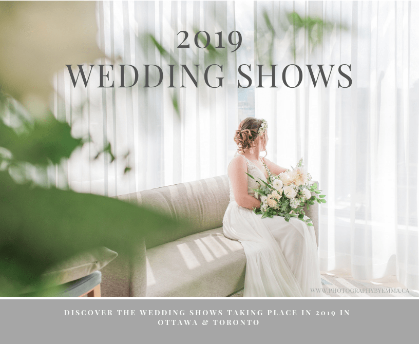ottawa wedding show, toronto wedding show, bride at a window, canadian wedding, wedluxe show 2019
