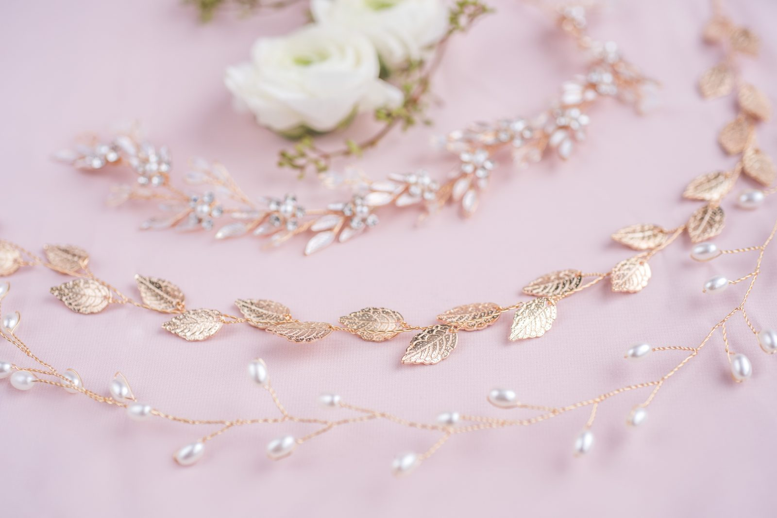 bridal jewelry hair pieces ottawa - photography by emma