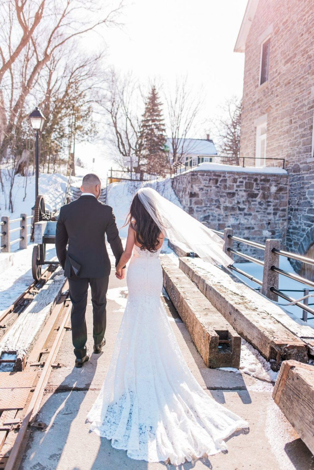 Lebanese wedding Ottawa - Watsons Mill, Winter Wedding - Photography by Emma