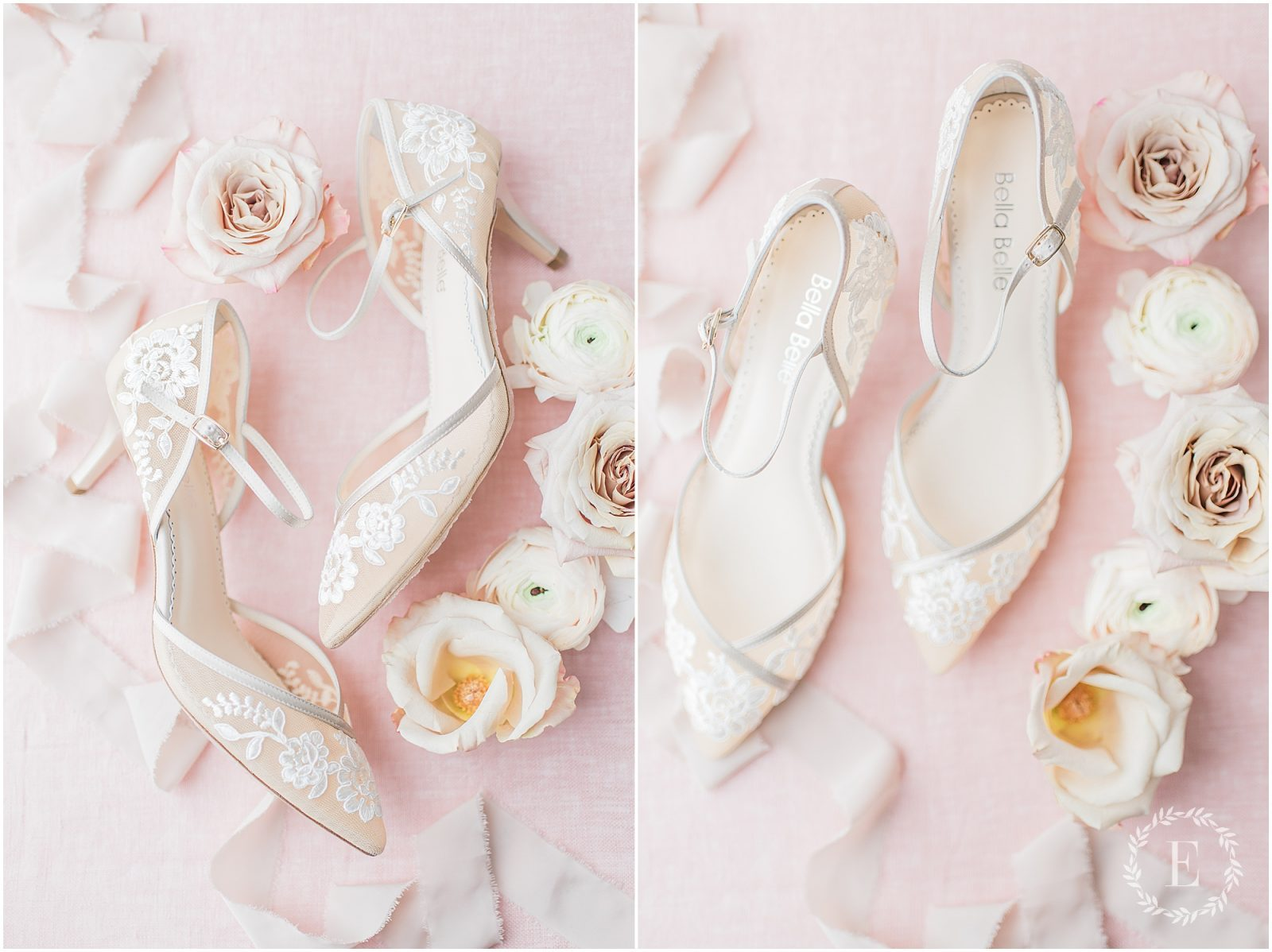 22 - Bella Belle for Fairy Dreams Bridal - lace bridal shoes ottawa
