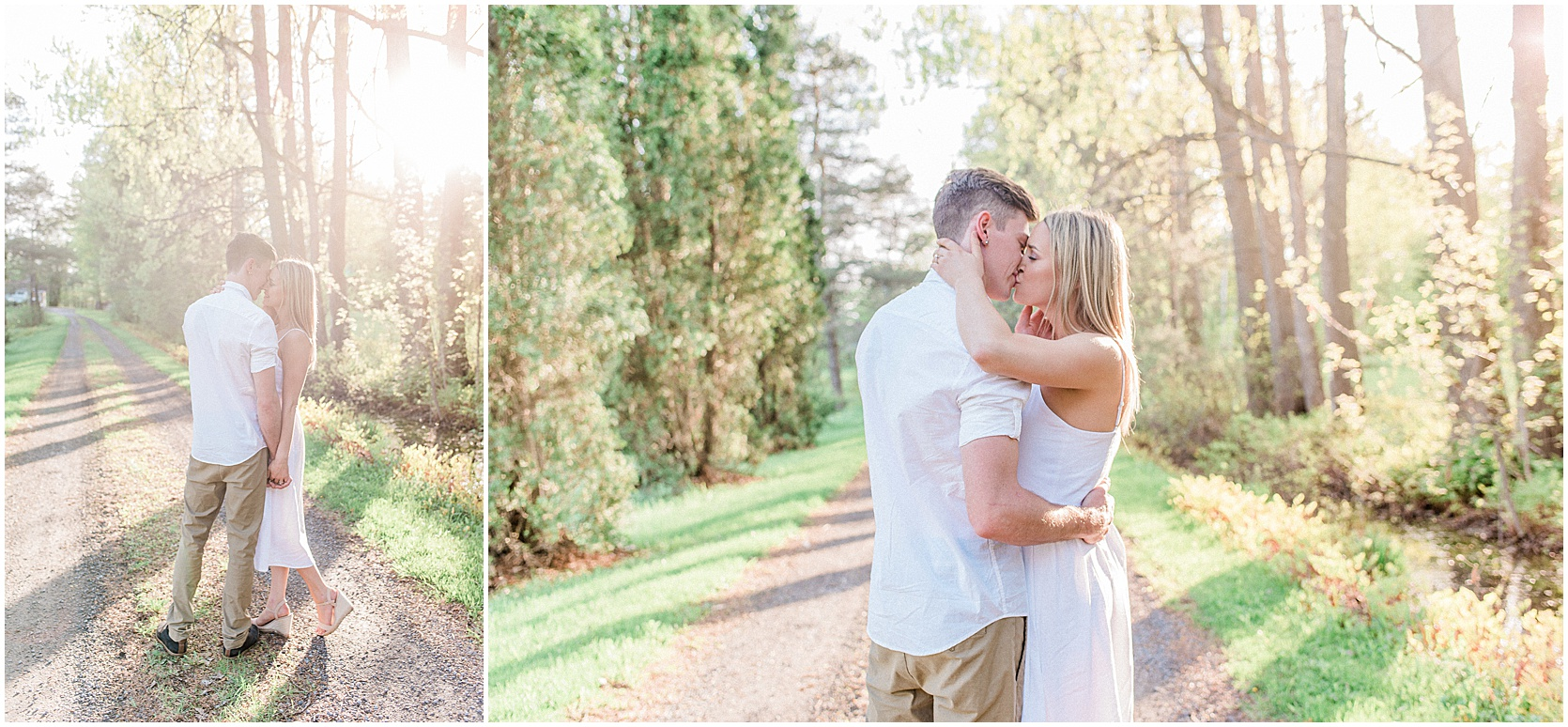 Ottawa engagement session, forest and country - light and airy photographer - photography by emma